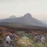 Frederick John Widgery  1861 - 1942Hey Tor , Dartmoor